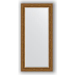 Зеркало с фацетом в багетной раме поворотное Evoform Exclusive 79x169 см, травленая бронза 99 мм (BY 3602) цена