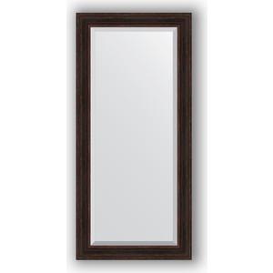 Зеркало с фацетом в багетной раме поворотное Evoform Exclusive 79x169 см, темный прованс 99 мм (BY 3603) зеркало с фацетом в багетной раме поворотное evoform exclusive 53x83 см прованс с плетением 70 мм by 3407