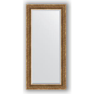 Зеркало с фацетом в багетной раме поворотное Evoform Exclusive 79x169 см, вензель бронзовый 101 мм (BY 3604) александр снегирёв божественный вензель