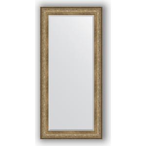 Зеркало с фацетом в багетной раме поворотное Evoform Exclusive 80x170 см, виньетка античная бронза 109 мм (BY 3607) evoform exclusive by 1161