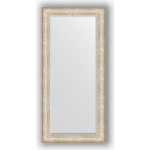 зеркало с фацетом в багетной раме поворотное evoform exclusive 120x180 см виньетка серебро 109 мм by 3634 Зеркало с фацетом в багетной раме поворотное Evoform Exclusive 80x170 см, виньетка серебро 109 мм (BY 3608)