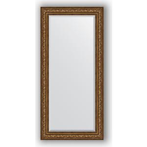 Зеркало с фацетом в багетной раме Evoform Exclusive 80x170 см, виньетка состаренная бронза 109 мм (BY 3609) evoform exclusive by 1161