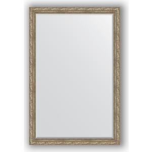 Зеркало с фацетом в багетной раме поворотное Evoform Exclusive 115x175 см, виньетка античное серебро 85 мм (BY 3617) evoform exclusive by 1161