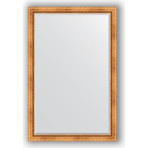 Зеркало с фацетом в багетной раме Evoform Exclusive 116x176 см, римское золото 88 мм (BY 3620) tms320f28335 tms320f28335ptpq lqfp 176