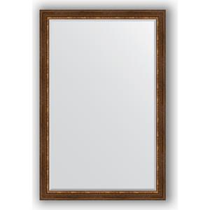 Зеркало с фацетом в багетной раме поворотное Evoform Exclusive 116x176 см, римская бронза 88 мм (BY 3621) римская штора quelle quelle 541783 6 в ш ок 150 90 см