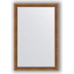 Зеркало с фацетом в багетной раме поворотное Evoform Exclusive 117x177 см, бронзовый акведук 93 мм (BY 3622) зеркало с фацетом в багетной раме evoform exclusive 47x57 см бронзовый акведук 93 мм by 3362