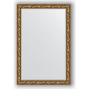 Зеркало с фацетом в багетной раме поворотное Evoform Exclusive 119x179 см, византия золото 99 мм (BY 3623) 6 rustless ceramic knife black