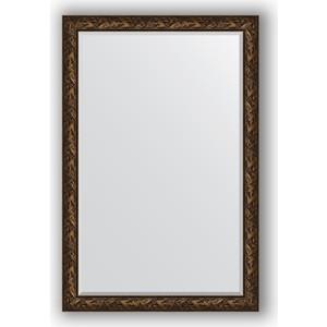 Зеркало с фацетом в багетной раме поворотное Evoform Exclusive 119x179 см, византия бронза 99 мм (BY 3625) зеркало с фацетом в багетной раме поворотное evoform exclusive 71x161 см палисандр 62 мм by 1204