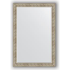 зеркало с фацетом в багетной раме поворотное evoform exclusive 120x180 см виньетка серебро 109 мм by 3634 Зеркало с фацетом в багетной раме поворотное Evoform Exclusive 120x180 см, барокко серебро 106 мм (BY 3632)