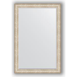 Зеркало с фацетом в багетной раме поворотное Evoform Exclusive 120x180 см, виньетка серебро 109 мм (BY 3634) посуда и скатерти procos самолеты 120x180 см