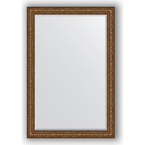 Зеркало с фацетом в багетной раме Evoform Exclusive 120x180 см, виньетка состаренная бронза 109 мм (BY 3635) evoform exclusive by 1161