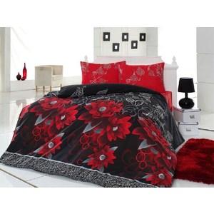 Комплект постельного белья Cotton Life 1,5 сп Casablanca красный (6162)