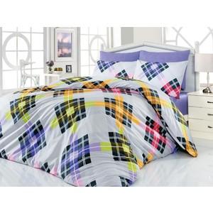 Комплект постельного белья Cotton Life 1,5 сп Smart лиловый (6163)