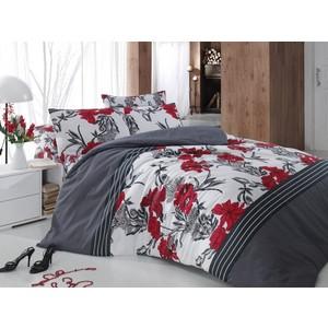 Комплект постельного белья Cotton Life 1,5 сп Aliza красный (8016)