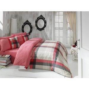 Комплект постельного белья Cotton Life 1,5 сп Berry красный (6426)