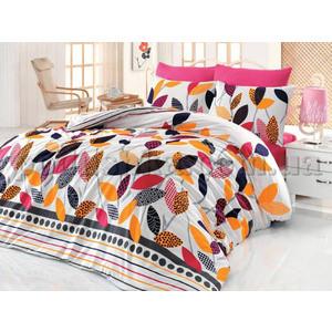Комплект постельного белья Cotton Life 1,5 сп Defne фуксия (6313)