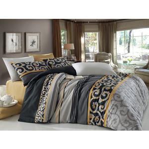 Комплект постельного белья Cotton Life 1,5 сп Jadore коричневый (8021)
