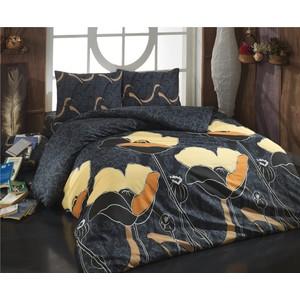 Комплект постельного белья Cotton Life 1,5 сп Juliet коричневый (8020)