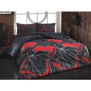 Комплект постельного белья Cotton Life 1,5 сп Juliet красный (8020)