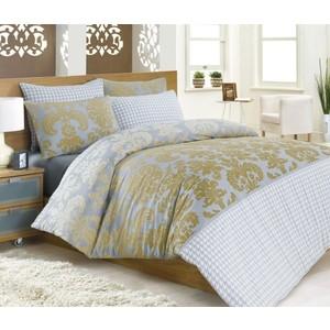 Комплект постельного белья Cotton Life 1,5 сп Sehrazat (6046)