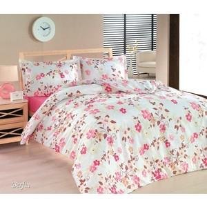 комплект постельного белья cotton life 2 х сп amore 7996 Комплект постельного белья Cotton Life 2-х сп Berfin розовый (5247)