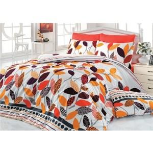 Комплект постельного белья Cotton Life 2-х сп Defne терракотовый (5252)
