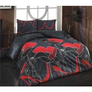 Комплект постельного белья Cotton Life 2-х сп Juliet красный (7997)