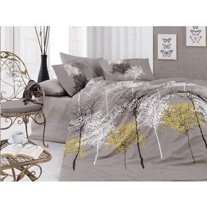 Комплект постельного белья Cotton Life 2-х сп Naturel коричневый (8349)