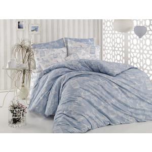 Комплект постельного белья Cotton Life 2-х сп Samyeli голубой (8348)