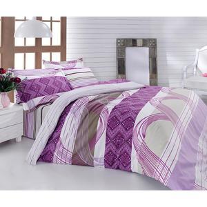 Комплект постельного белья Cotton Life 2-х сп Akustik лиловый (7625)