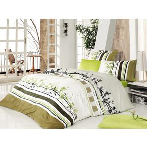 Комплект постельного белья Cotton Life 2-х сп Bambu фисташковый (8352)
