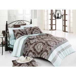 Комплект постельного белья Cotton Life 2-х сп Elegance бирюзовый (8008)