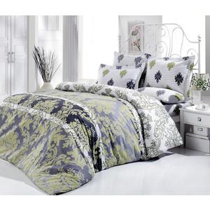 Комплект постельного белья Cotton Life 2-х сп Hicaz серый (7622)