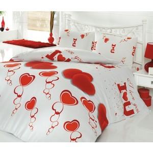Комплект постельного белья Cotton Life 2-х сп Love You (6140)