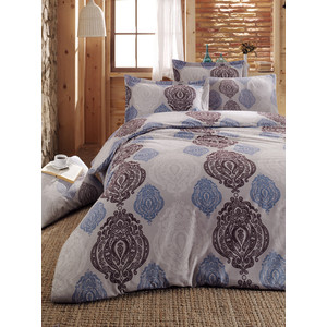 Комплект постельного белья Cotton Life 2-х сп Persia голубой (7621)