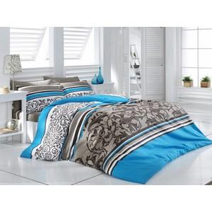 комплект постельного белья cotton life 2 х сп amore 7996 Комплект постельного белья Cotton Life 2-х сп Terra бирюзовый (6422)