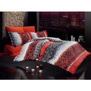 Комплект постельного белья Istanbul Евро Enzo (6206) красный