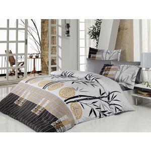 Комплект постельного белья Istanbul Евро Carizma (6207) серый