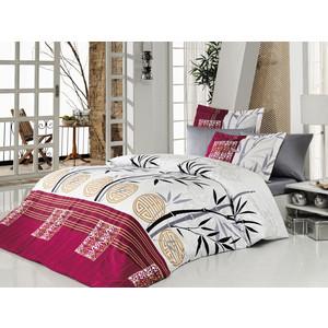 Комплект постельного белья Istanbul Евро Carizma (6207) красный