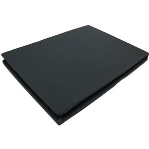 Простыня Juanna Kayalar трикотаж на резинке 180x220 чёрный (8569)