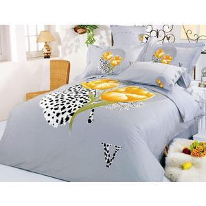 Комплект постельного белья Le Vele Евро Hayat (7745)
