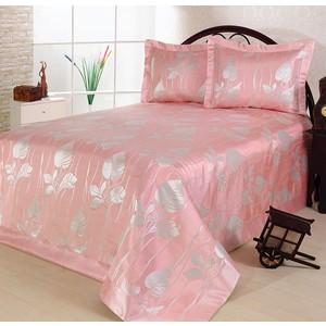 Покрывало Nazsu Yaprak 240х260 + 2 наволочки 50х70 розовый (5829) nazsu yaprak 240x260 1160420