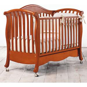 все цены на Кроватка Bambolina Divina 125х65 вишня онлайн