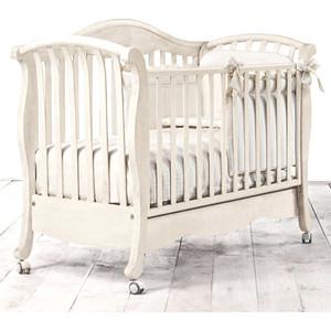 все цены на Кроватка Bambolina Divina 125х65 отбеленный онлайн