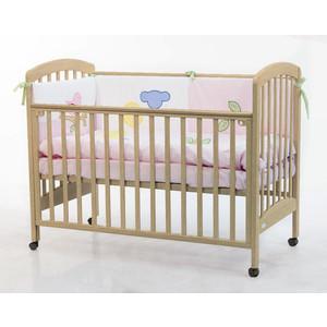 Кроватка Fiorellino Dalmatina 120х60 natur кроватка fiorellino fiore 120х60 white