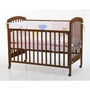 Кроватка Fiorellino Dalmatina 120х60 oreh кроватка fiorellino slovenia маятник продольный 120х60 wz 3 7026 oreh