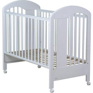 Кроватка Fiorellino Fiore 120х60 white кроватка fiorellino fiore 120х60 white
