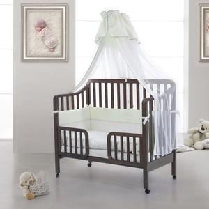 Кроватка Fiorellino Nika 120х60 oreh кроватка fiorellino slovenia маятник продольный 120х60 wz 3 7026 oreh