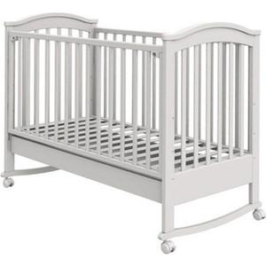 Кроватка Fiorellino Penelope 120х60 white artevaluce подвесной светильник penelope 15х24 см