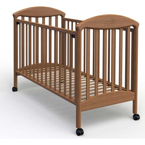 Кроватка Fiorellino Pu 120х60 oreh кроватка fiorellino slovenia маятник продольный 120х60 wz 3 7026 oreh